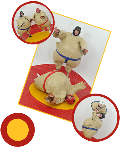 sumo wrestling suit fun
